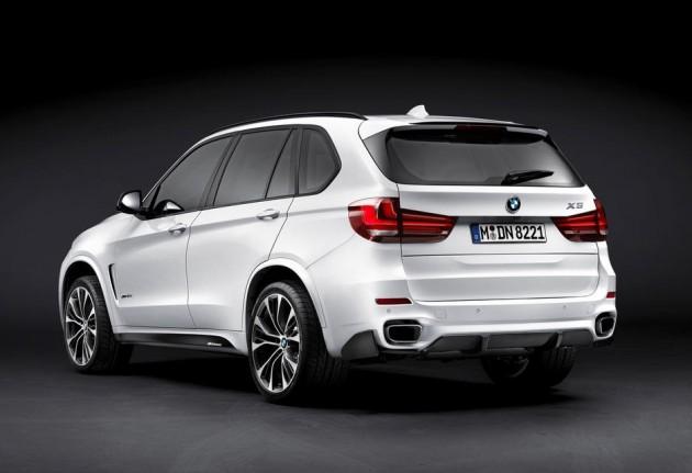 2014 BMW X5 M Performance-rear