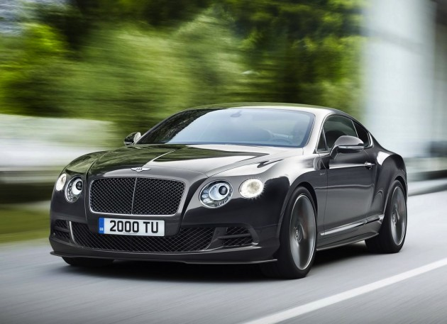 2014 Bentley Continental GT Speed coupe