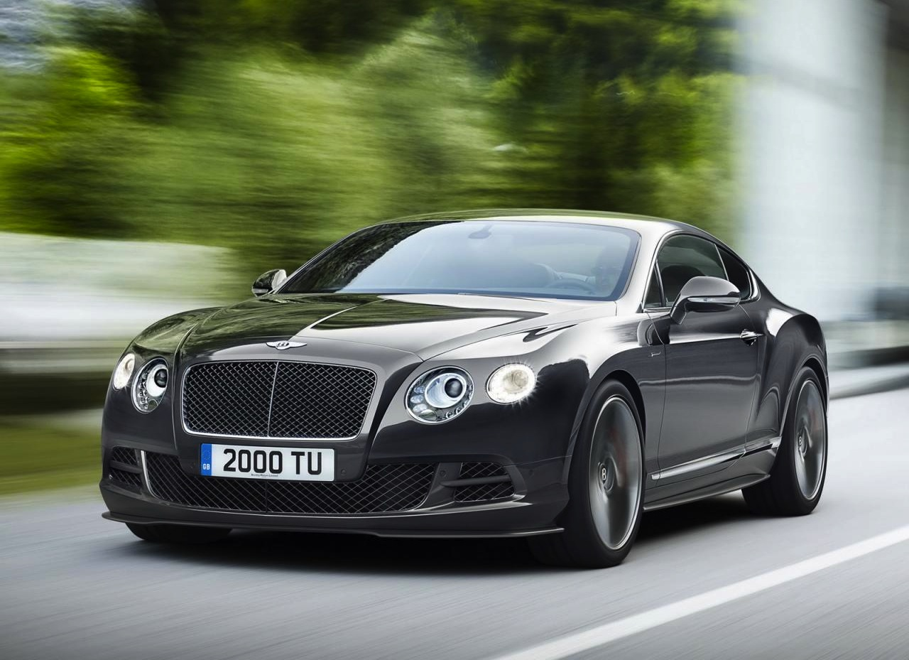 The new 2014 model Bentley Continental GT Speed has been revealed. It