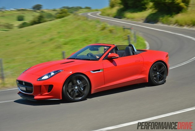 2014 Jaguar F-Type V6-PerformanceDrive