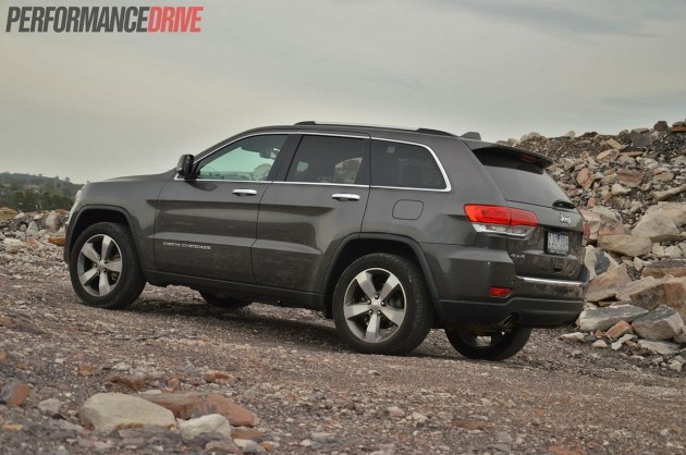 2014 Jeep Grand Cherokee Limited off road