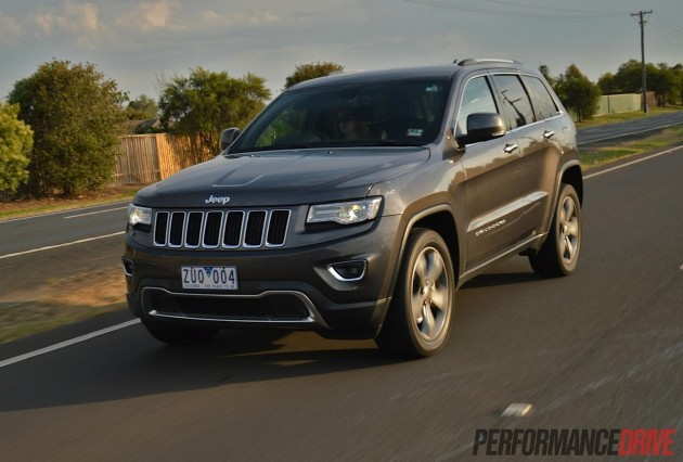 2014 Jeep Grand Cherokee Limited road driving