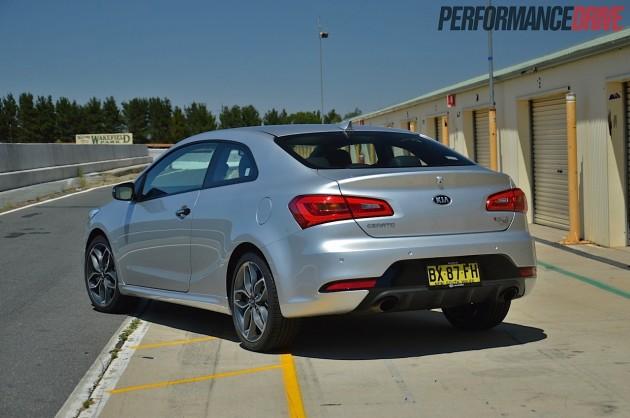 2014 Kia Koup Turbo back