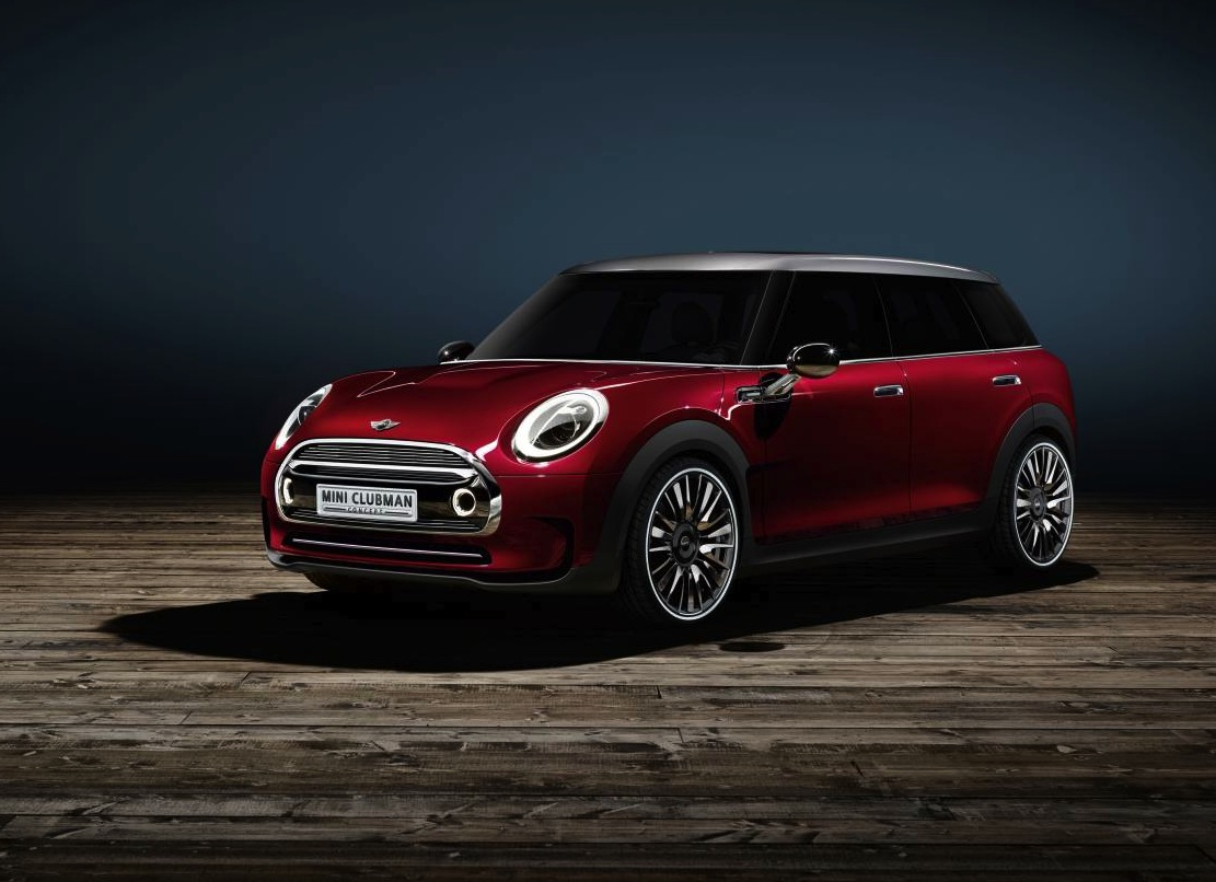 mini clubman concept revealed previews new model. Black Bedroom Furniture Sets. Home Design Ideas