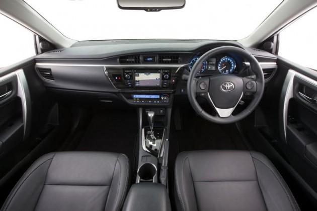 2014 Toyota Corolla ZR-interior