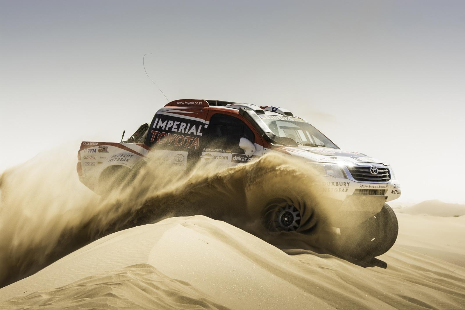 2014 Toyota Hilux Dakar Rally Performancedrive