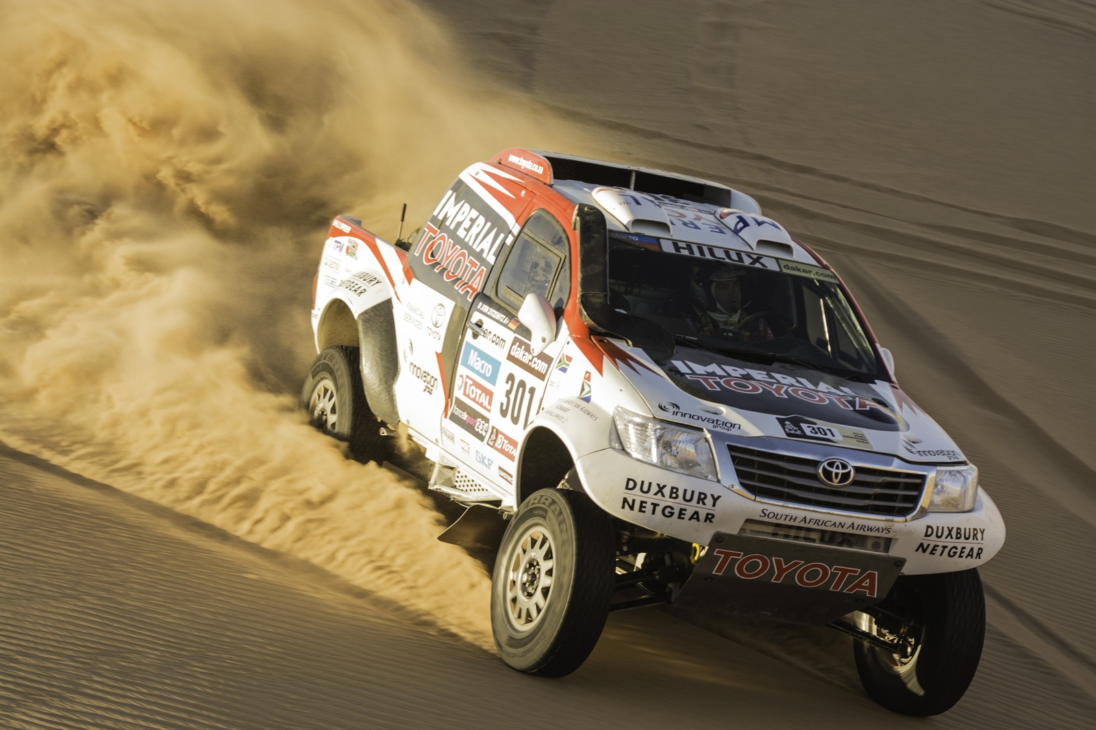 2014 Toyota Hilux Dakar Rally 2