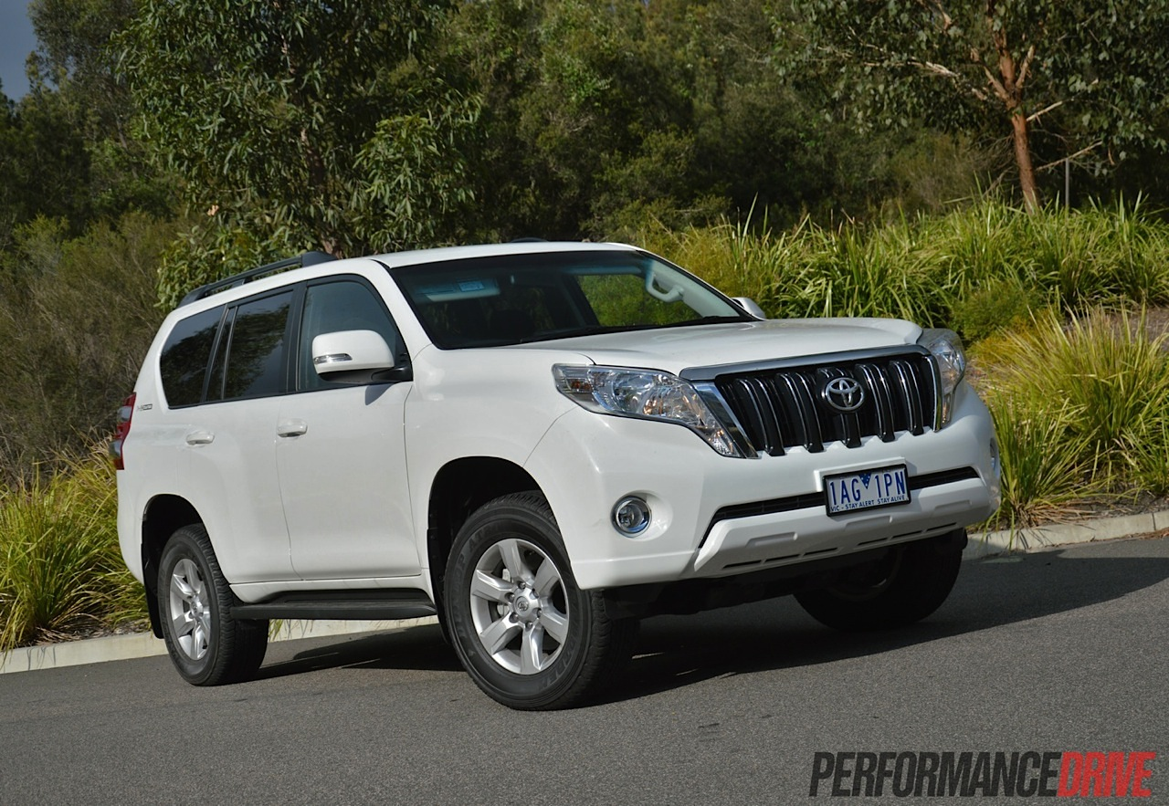 2014 Toyota LandCruiser Prado GXL review
