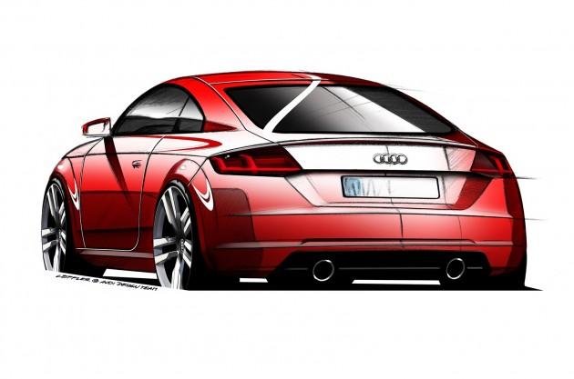 2015 Audi TT sketch-rear