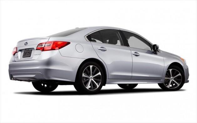 2015 Subaru Liberty rear