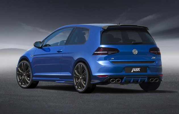 ABT Volkswagen Golf R Mk7-rear