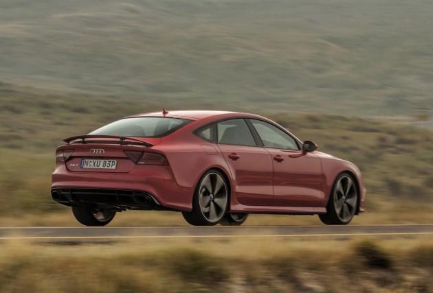 Audi RS 7 Sportback-rear
