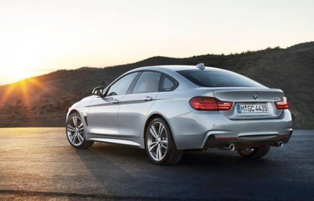 BMW 4 Series Gran Coupe back
