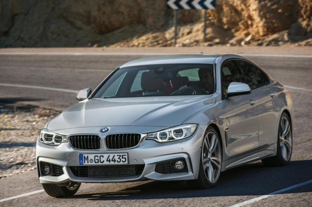 BMW 4 Series Gran Coupe silver
