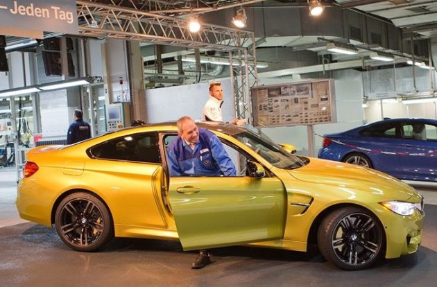 BMW M4 production starts