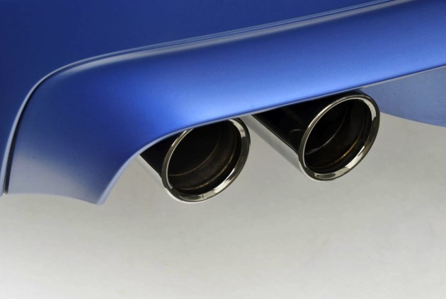 BMW M5 Competition pack exhaust