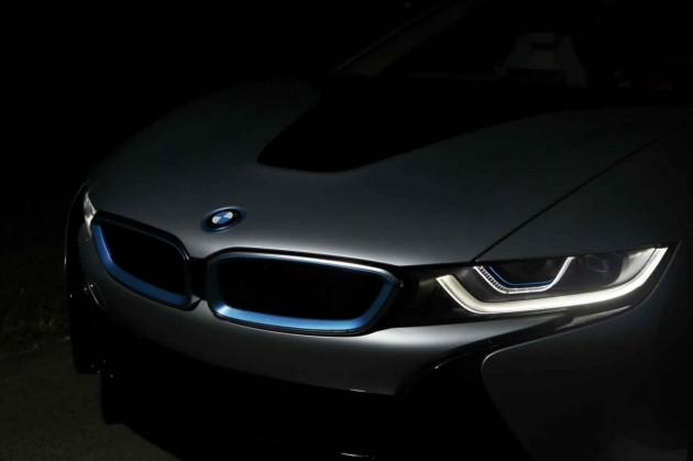 BMW i8 laser headlight option