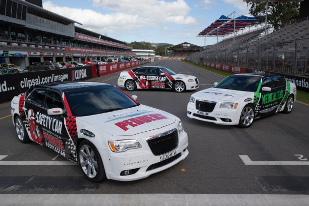 Chrysler 300 SRT8 V8 Supercars safety car