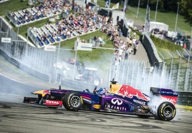 F1 donuts