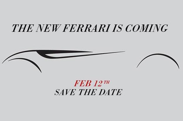 Ferrari 149M Project teaser 2