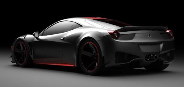 Ferrari 458 Curseive Vogue Auto-rear