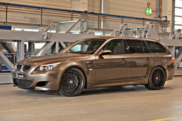 G-Power M5 Hurrican RR Touring-side