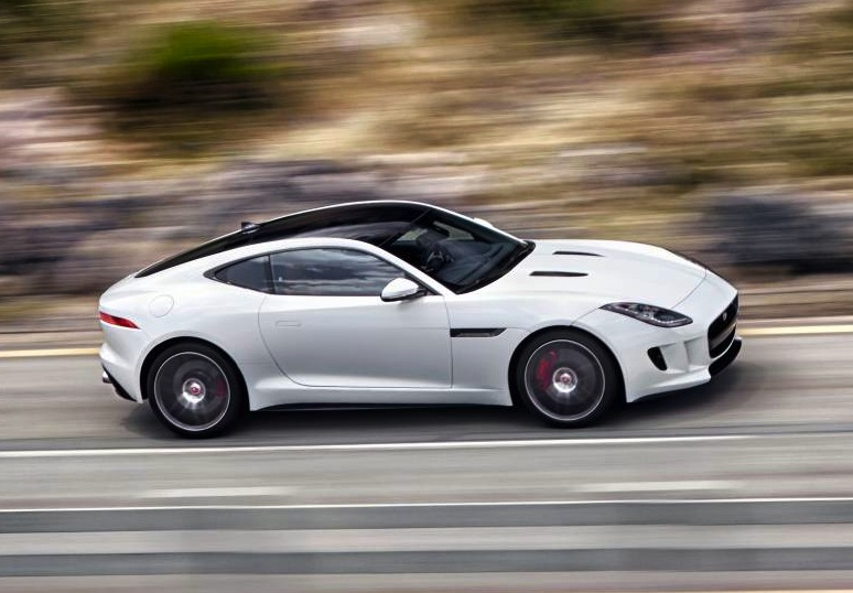 the stunning jaguar f type coupe will go on sale in australia in july. Black Bedroom Furniture Sets. Home Design Ideas