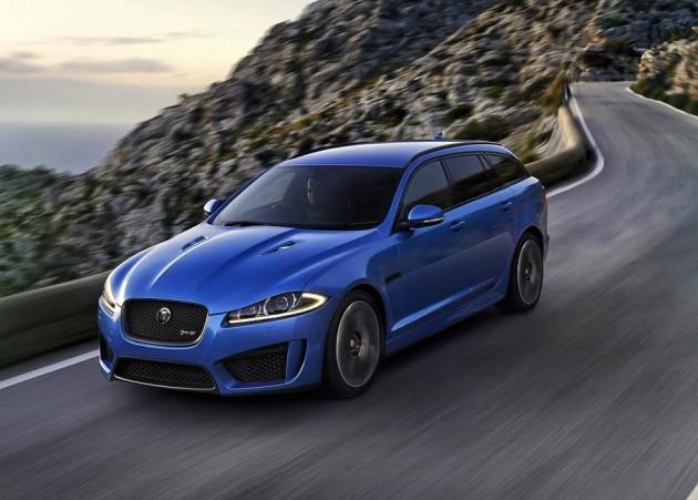 Jaguar XFR-S Sportbrake-driving