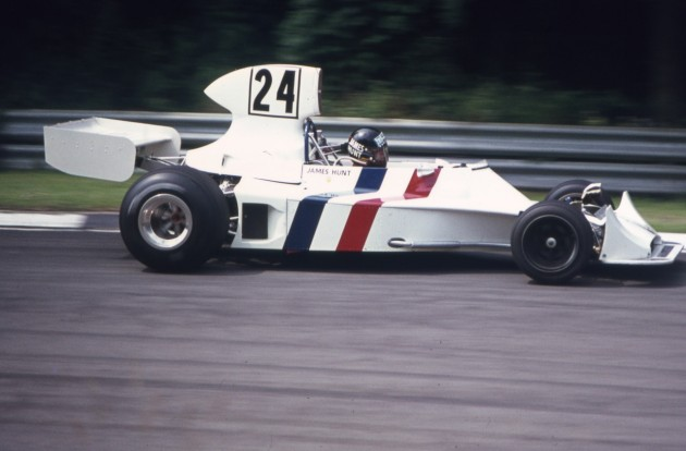 James Hunt 1974 Hesketh F1