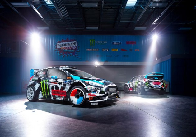 Ken Block 2014 World Rallycross