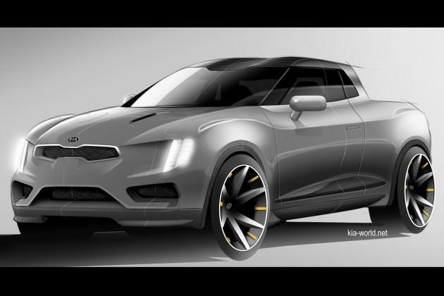 Kia Truckster concept-maybe