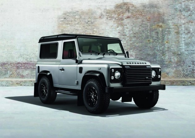 Land Rover Defender Silver Edition