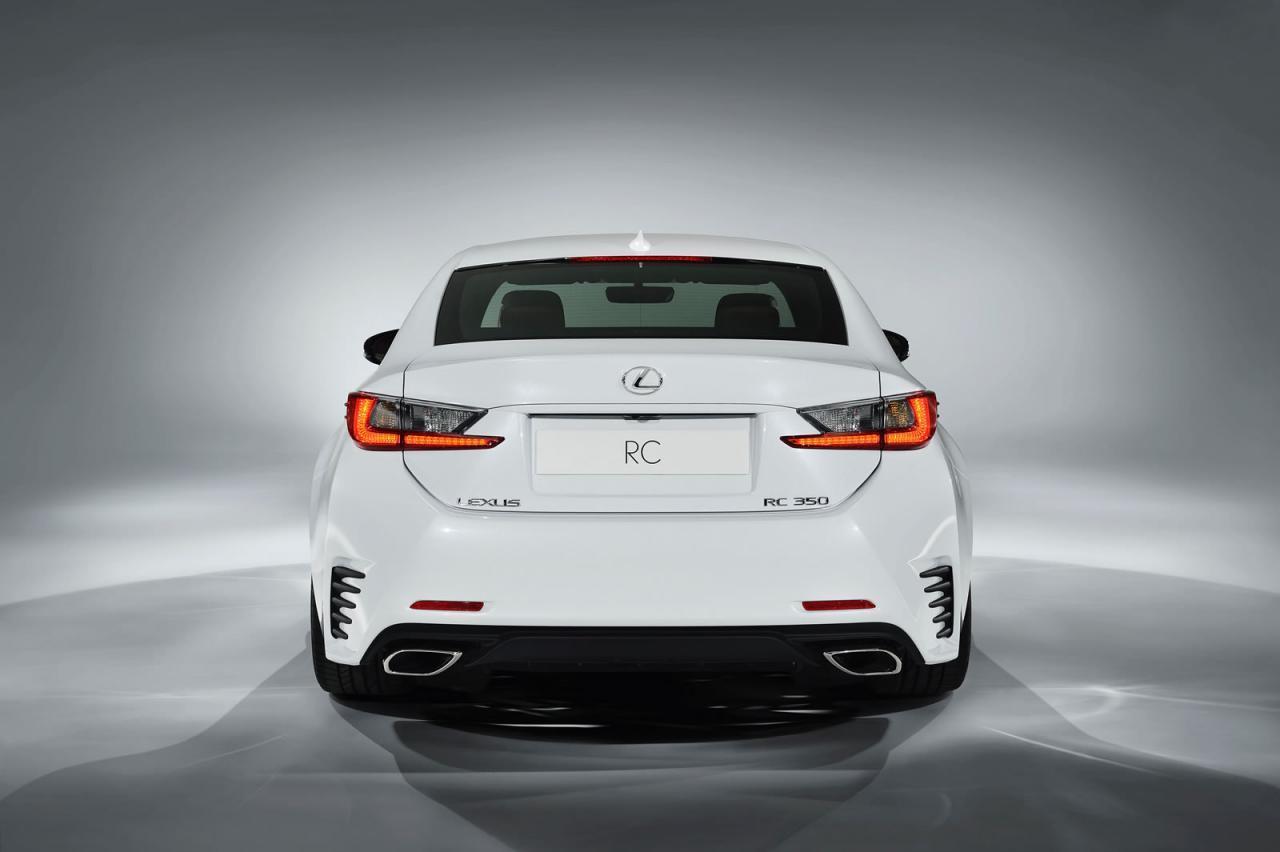 lexus rc 350 f sport revealed gets rear wheel steering. Black Bedroom Furniture Sets. Home Design Ideas