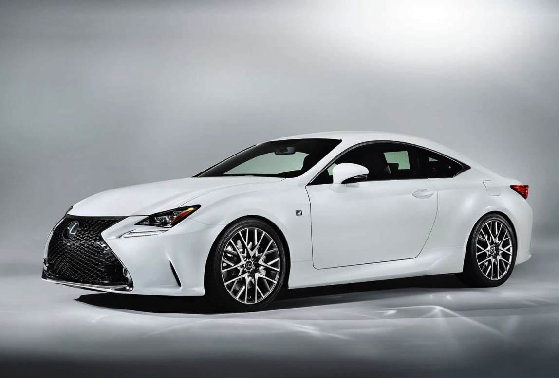 lexus rc 350 f sport revealed gets rear wheel steering. Black Bedroom Furniture Sets. Home Design Ideas