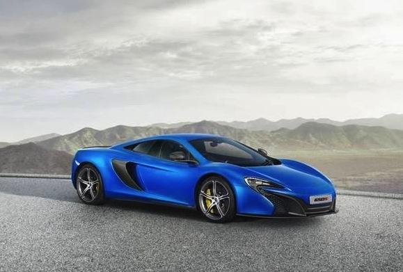 McLaren 650S-blue
