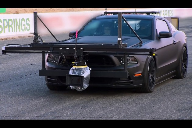 Need for Speed Ford Mustang camera car