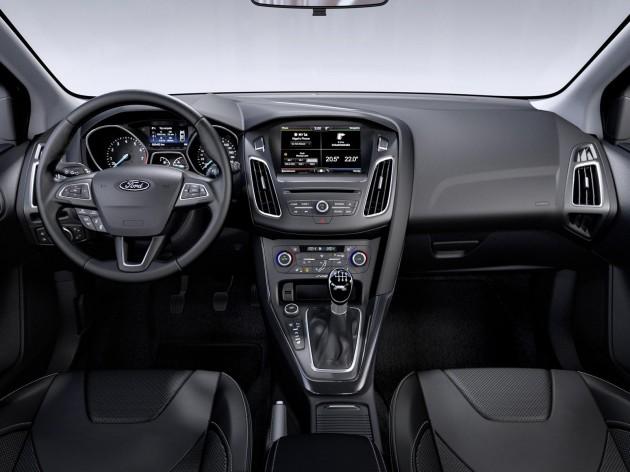 New 2014 Ford Focus-interior