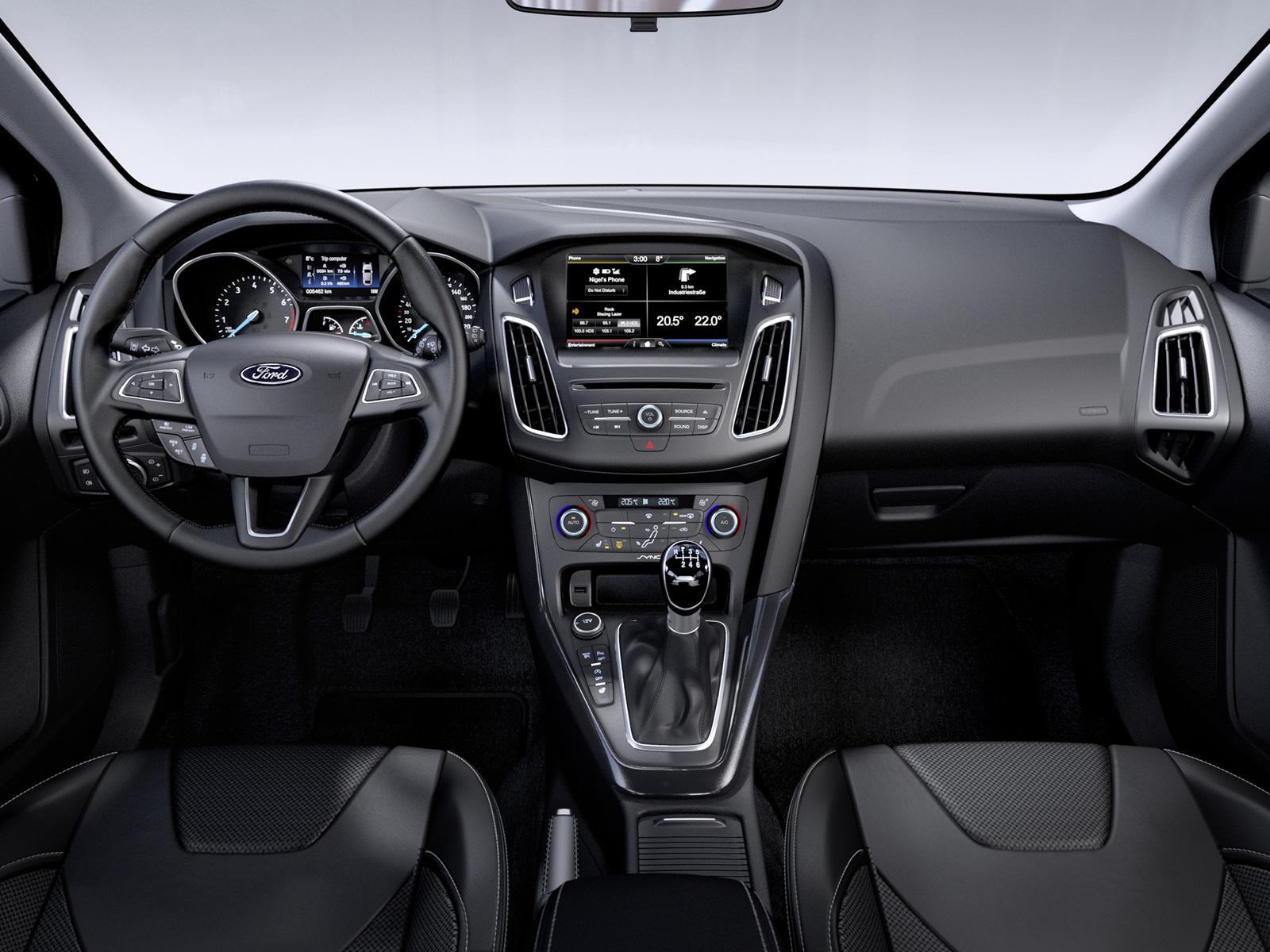 Ford Focus 2018 Interior >> New 2014 Ford Focus-interior