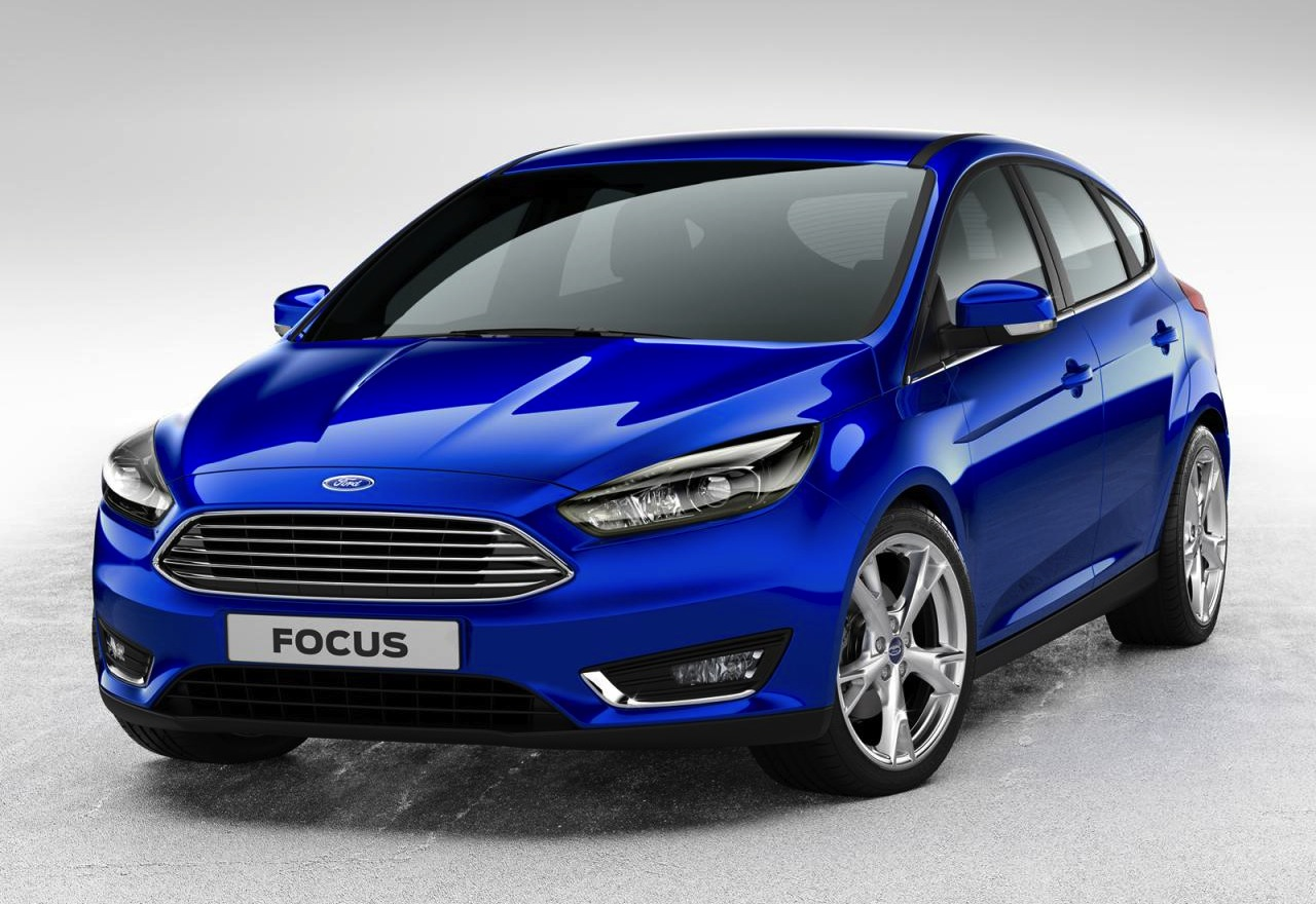 facelifted 2014 ford focus gets new look grille performancedrive. Black Bedroom Furniture Sets. Home Design Ideas