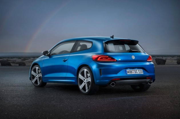 New 2014 Volkswagen Scirocco R-rear