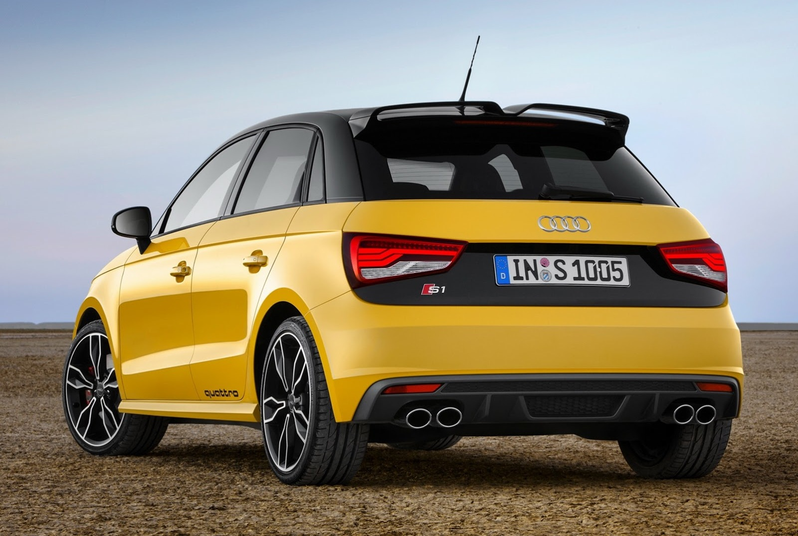 audi s1 quattro leaked online new super hot hatch performancedrive. Black Bedroom Furniture Sets. Home Design Ideas