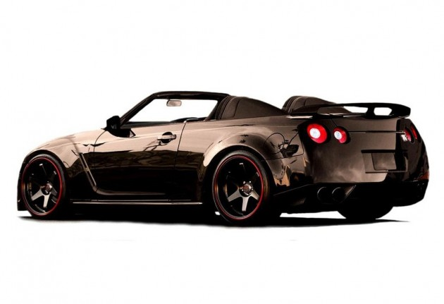 Newport Engineering Nissan GT-R convertible-black