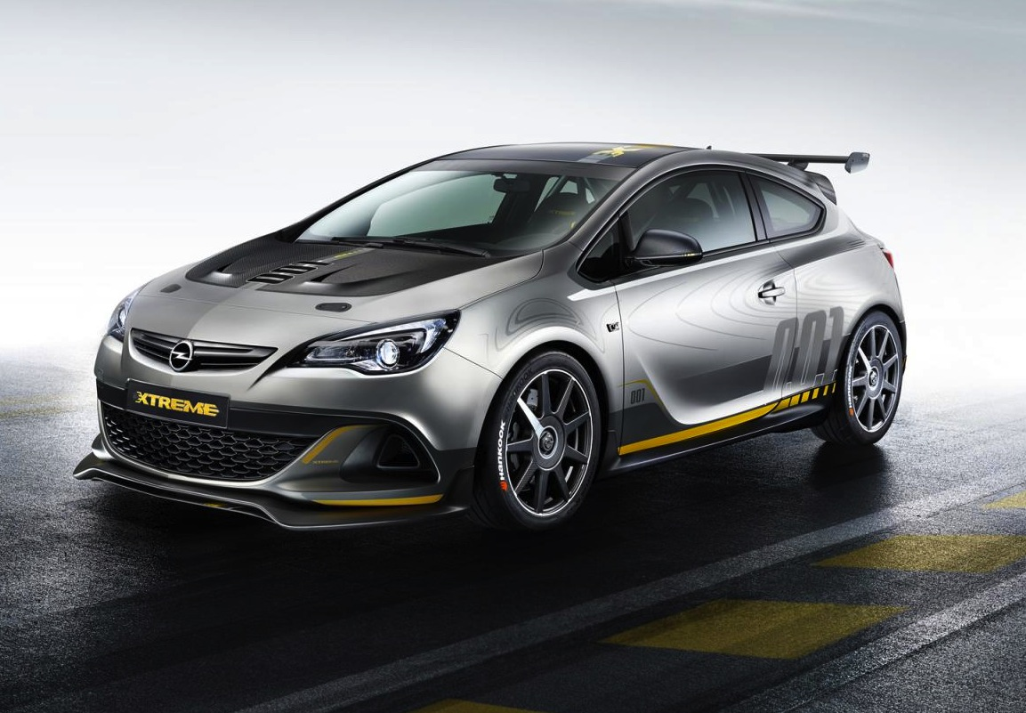 opel astra opc extreme set for production performancedrive. Black Bedroom Furniture Sets. Home Design Ideas