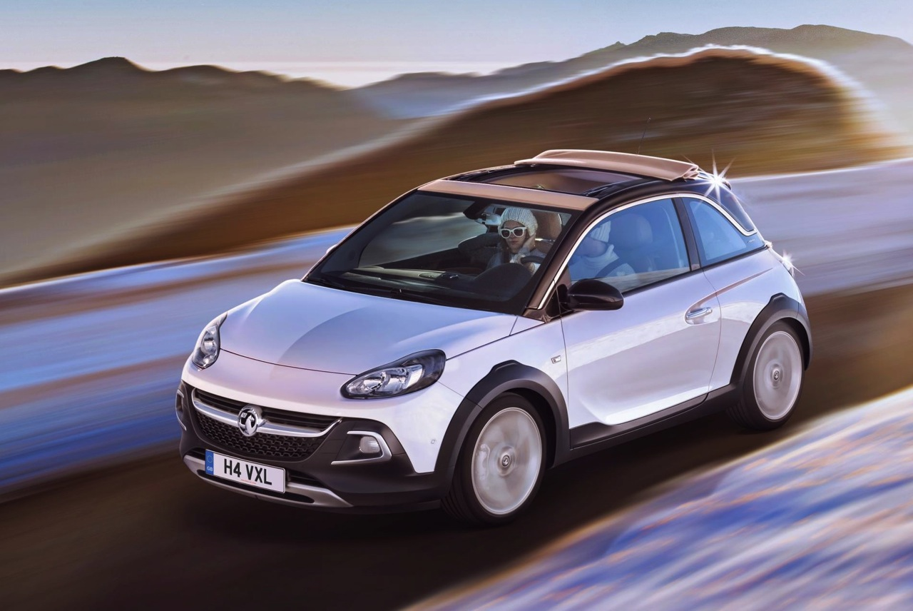 opel adam rocks revealed funky compact crossover performancedrive. Black Bedroom Furniture Sets. Home Design Ideas