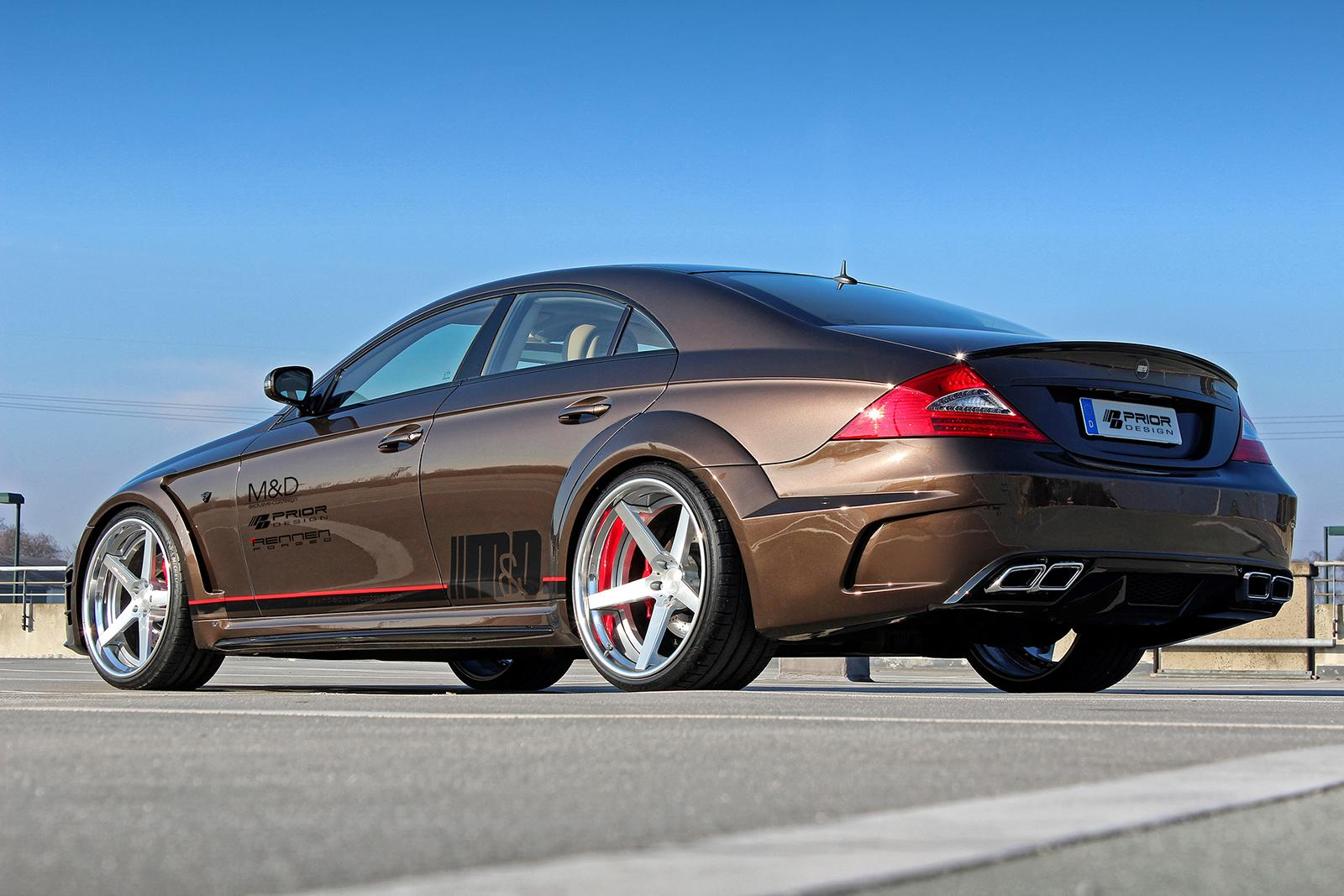 prior design pumps up the mercedes benz cls performancedrive. Black Bedroom Furniture Sets. Home Design Ideas