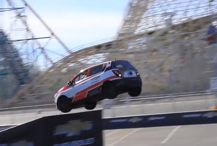 Rob Dyrdek Set Reverse Car Jump World Record In Sonic Rs