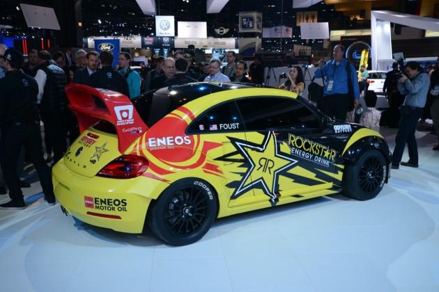 Volkswagen GRC Beetle Rallycross-side