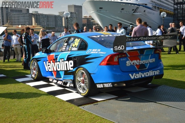 Volvo V8 Supercar-rear