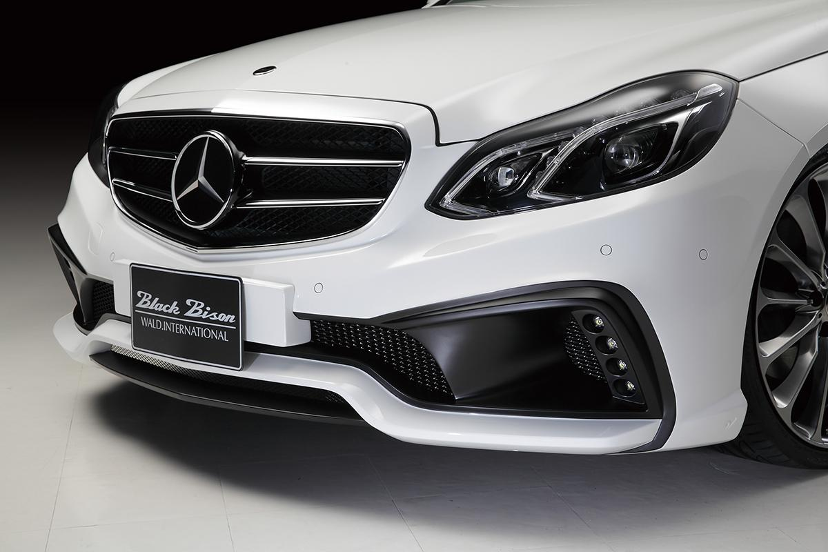 Wald black bison kit announced for mercedes e class for Mercedes benz front bumper