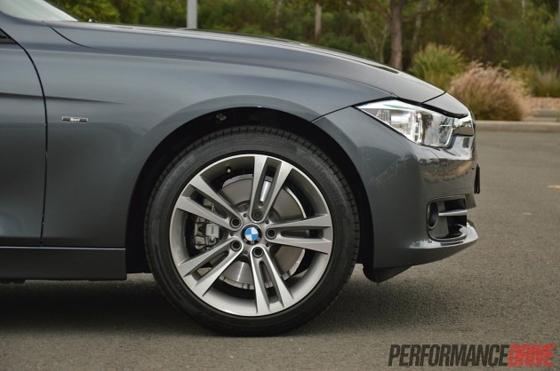 2014 BMW 328i Sport Line 18in wheels